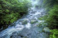 川俣川渓谷の清流 02822000014| 写真素材・ストックフォト・画像・イラスト素材|アマナイメージズ