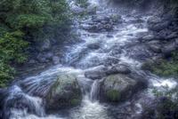 川俣川渓谷の清流 02822000015| 写真素材・ストックフォト・画像・イラスト素材|アマナイメージズ