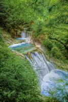 西沢渓谷の七ツ釜五段滝 02822000016| 写真素材・ストックフォト・画像・イラスト素材|アマナイメージズ