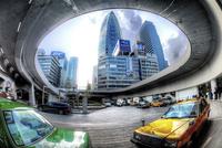 新宿駅地下のタクシー乗り場 02822000078| 写真素材・ストックフォト・画像・イラスト素材|アマナイメージズ