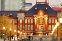 秋の東京駅 02822000098| 写真素材・ストックフォト・画像・イラスト素材|アマナイメージズ