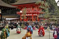 下鴨神社の蹴鞠始め