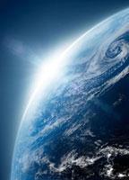 光差す地球 07000000716| 写真素材・ストックフォト・画像・イラスト素材|アマナイメージズ
