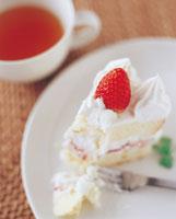 イチゴショートケーキ 07092001581| 写真素材・ストックフォト・画像・イラスト素材|アマナイメージズ