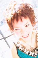 女性アップ 07092002599| 写真素材・ストックフォト・画像・イラスト素材|アマナイメージズ