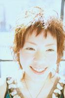 女性アップ 07092003442| 写真素材・ストックフォト・画像・イラスト素材|アマナイメージズ