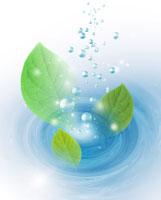 葉っぱのCGイメージ 07123000445| 写真素材・ストックフォト・画像・イラスト素材|アマナイメージズ