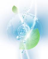 葉っぱのCGイメージ 07123000446| 写真素材・ストックフォト・画像・イラスト素材|アマナイメージズ