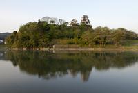 愛媛県 大洲城と肱川の流れ