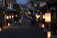 愛媛県 八日市町並観月会