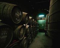 ポルトのワイン工場