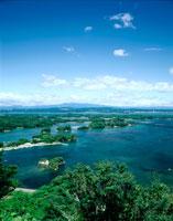 大高森より松島全景