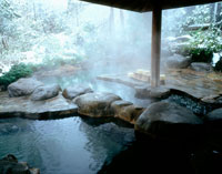 冬の遠刈田温泉竹泉荘