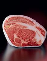 牛肉ブロックの断面