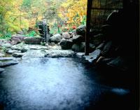 秋の青荷温泉 20005005405| 写真素材・ストックフォト・画像・イラスト素材|アマナイメージズ