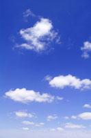 青空の白い雲