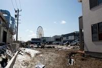 東日本大震災 三井アウトレットパーク仙台港付近