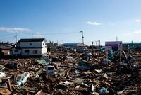 東日本大震災 名取市立閖上小学校付近
