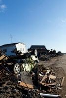 東日本大震災 仙台空港付近