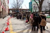 東日本大震災 仙台駅付近 さくら野前