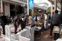 東日本大震災 一番町アーケード街