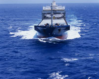 貨物船 空撮