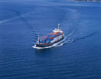 小型コンテナ船 瀬戸内海