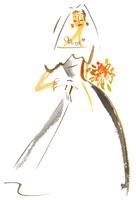 ウェディングドレスを着た女性 20010001881| 写真素材・ストックフォト・画像・イラスト素材|アマナイメージズ