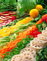 サラダ野菜集合