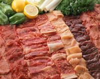 焼肉用肉 20013001503| 写真素材・ストックフォト・画像・イラスト素材|アマナイメージズ