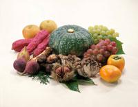 秋の味覚 20013001991| 写真素材・ストックフォト・画像・イラスト素材|アマナイメージズ