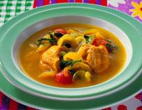 鶏のカレースープ煮 20013002420| 写真素材・ストックフォト・画像・イラスト素材|アマナイメージズ