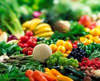 野菜と果実の集合