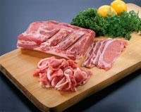 豚肉(ロース) 20013005592| 写真素材・ストックフォト・画像・イラスト素材|アマナイメージズ