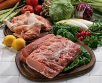 豚肉・鶏肉・野菜