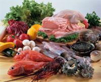 肉・魚介 20013005659| 写真素材・ストックフォト・画像・イラスト素材|アマナイメージズ