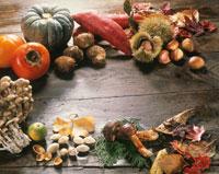 秋の味覚 20013005663| 写真素材・ストックフォト・画像・イラスト素材|アマナイメージズ