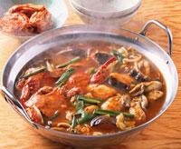 チゲ鍋(海鮮)
