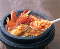チゲ鍋(海鮮) 20013007176| 写真素材・ストックフォト・画像・イラスト素材|アマナイメージズ