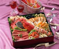 洋風おせち料理 20013008137| 写真素材・ストックフォト・画像・イラスト素材|アマナイメージズ