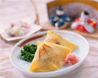 ひな祭り(はまぐり寿司)