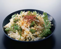 白菜と春菊の韓国風サラダ