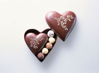 バレンタインチョコレート 20013010717| 写真素材・ストックフォト・画像・イラスト素材|アマナイメージズ