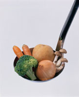 野菜イメージ レードル