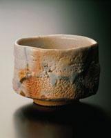志野焼茶碗