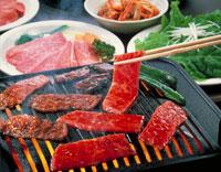 焼肉 20013012436| 写真素材・ストックフォト・画像・イラスト素材|アマナイメージズ