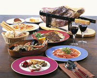 イタリア料理(ティーボーンステーキ)