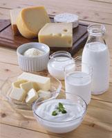 乳製品集合 20013014203| 写真素材・ストックフォト・画像・イラスト素材|アマナイメージズ