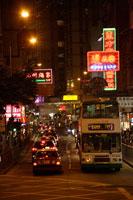 夜の香港 20013014827| 写真素材・ストックフォト・画像・イラスト素材|アマナイメージズ