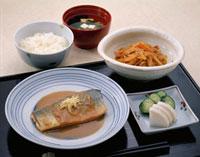 定食(さばの味噌煮)